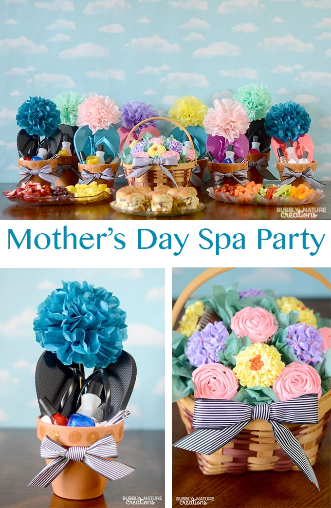 Mother's Day Spa Party!