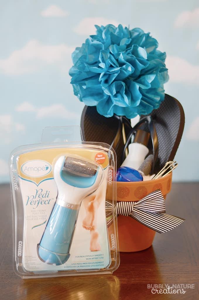 Pedi Flower Pots!  Fun way to gift pedi products!!