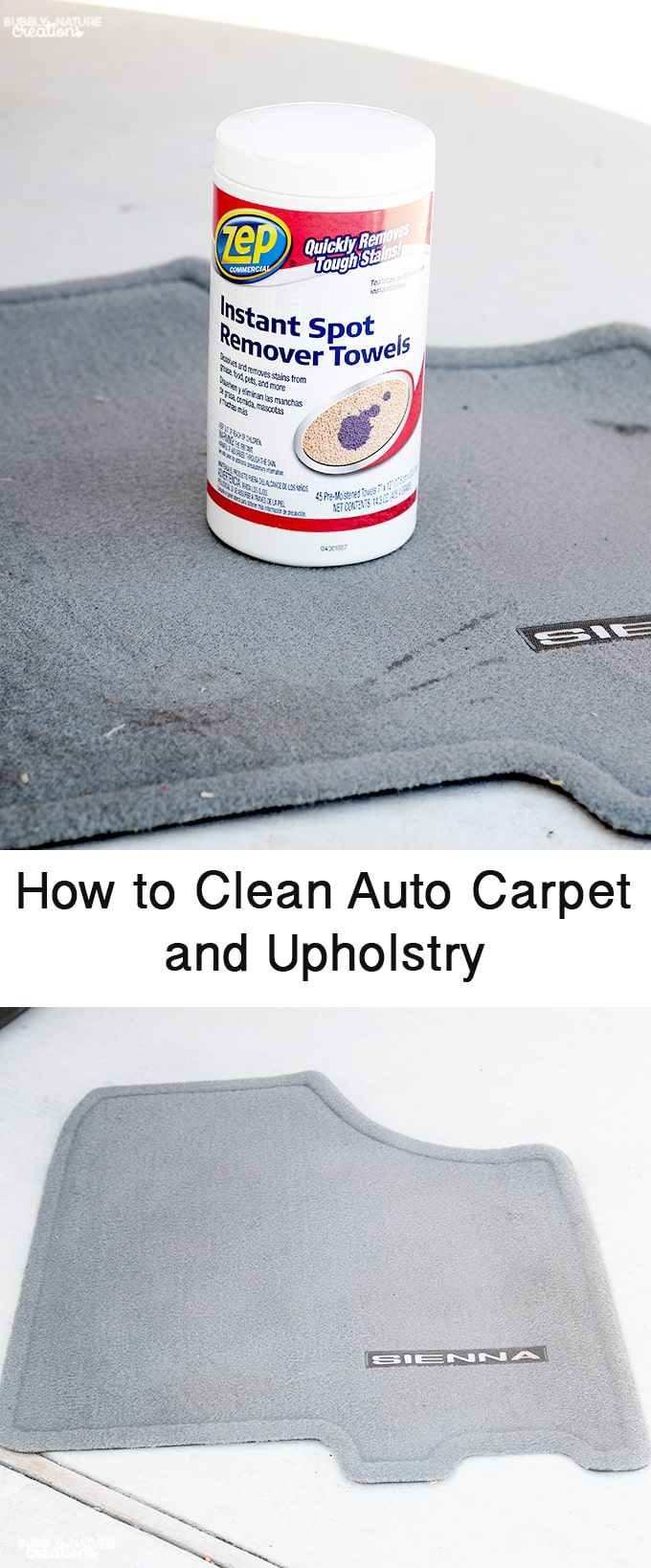 how to clean auto carpet