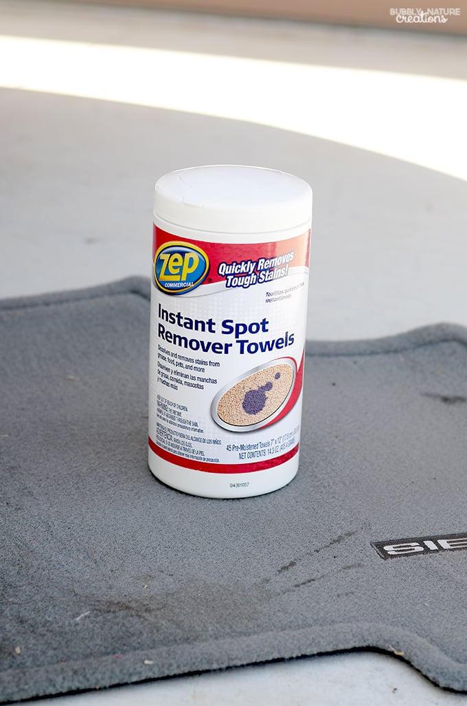 How To Clean Auto Carpet And Upholstery Quickly And Easily