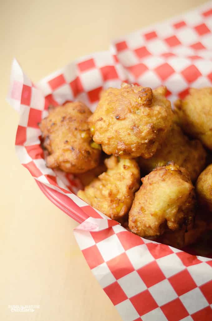 Corn Dog Fritters