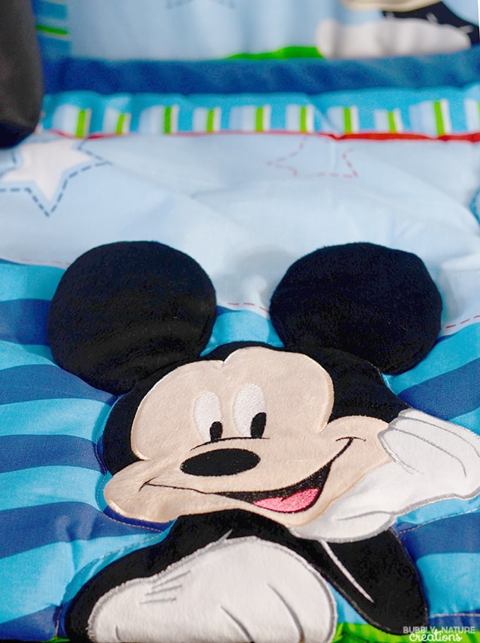 Mickey Mouse Baby Bedding from Walmart!