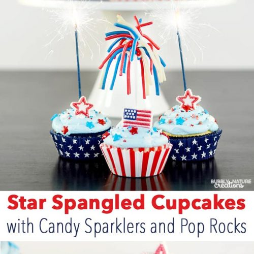 Candy Sparklers Cupcakes Sprinkle Some Fun