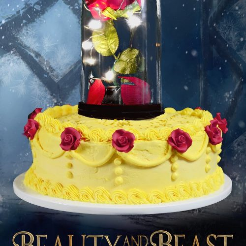 83ce9615235c80 Beauty and the Beast Cake Video Tutorial ⋆ Sprinkle Some Fun