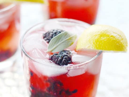Blackberry Sage Lemonade {The Melting Pot Copycat}