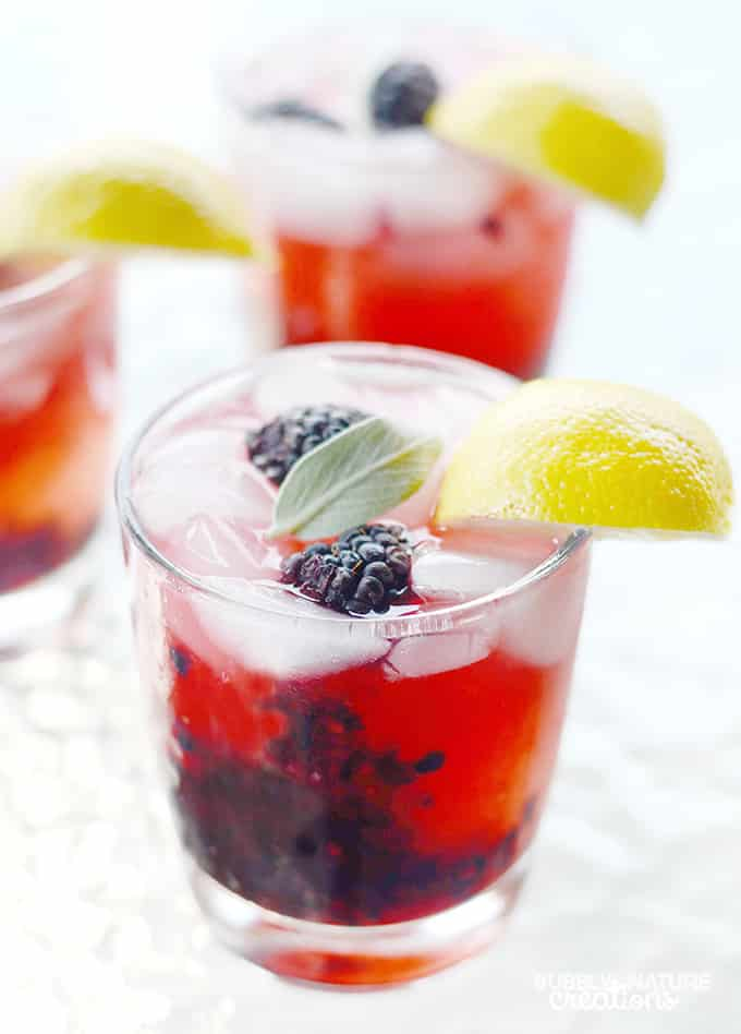 Blackberry Sage Lemonade like The Melting Pot recipe. This is so delicious and a refreshing drink!