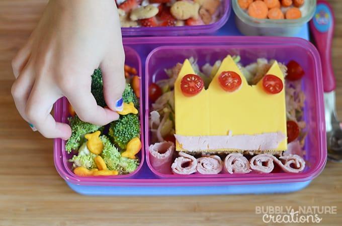 Easy Princess Lunchbox Idea!!!