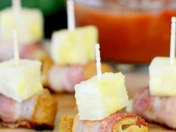 Hawaiian Bacon Bites