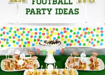 Easy Football Party Ideas and FREE Printables
