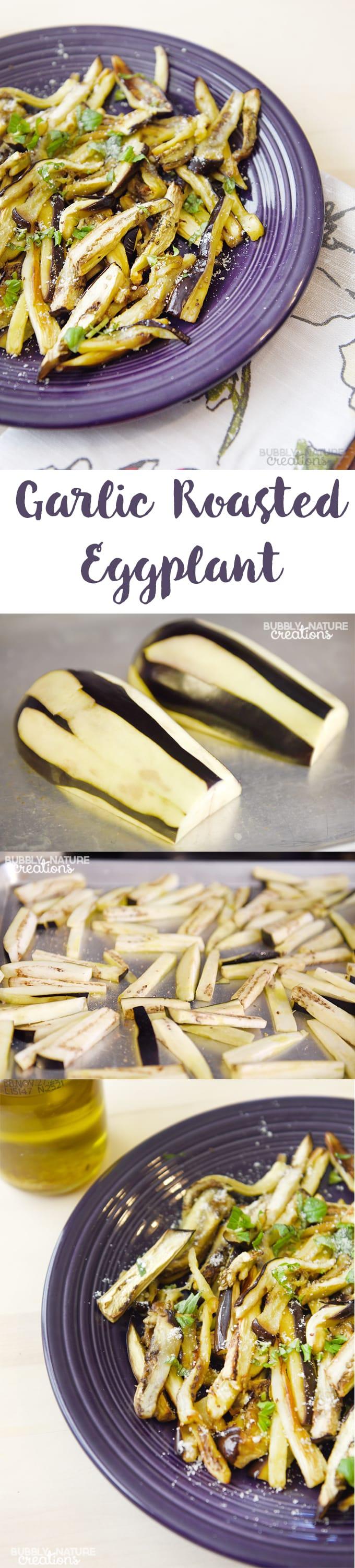 Garlic Roasted Eggplant