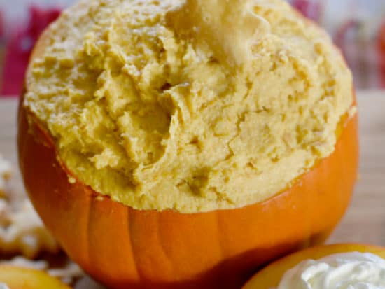 2 Ingredient Pumpkin Pie Dip