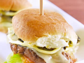 Easy Game Day Sliders and Croissant Appetizers