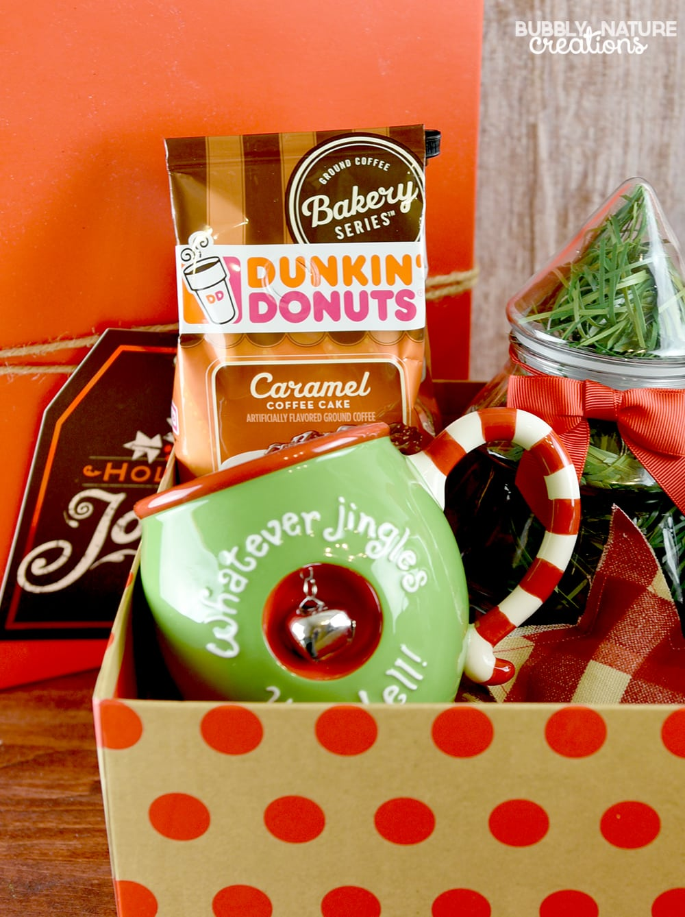 coffee and donuts christmas gift basket  u22c6 sprinkle some fun