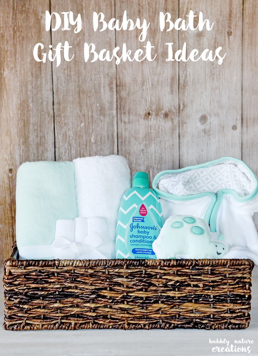 Make Your Own Baby Gift Basket Ideas : Diy baby gift basket ideas sprinkle some fun