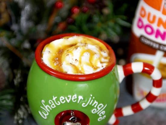 Easy Creamy Salted Caramel Mocha