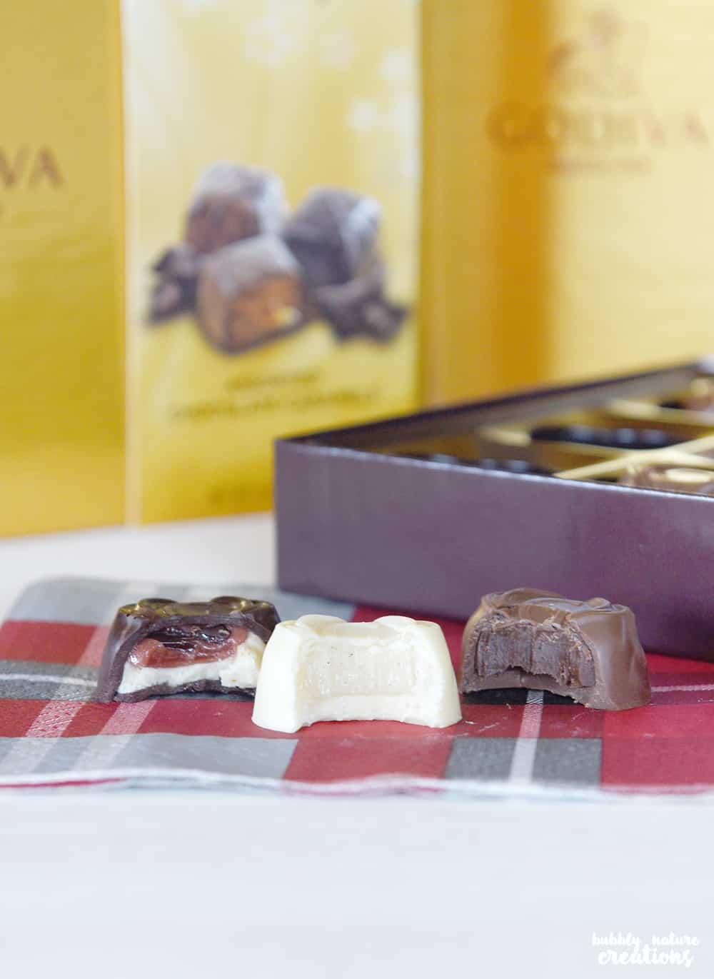 Gold Gift Basket with Godiva Chocolates!