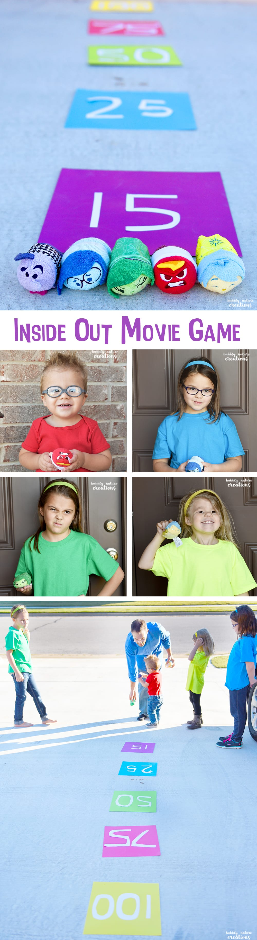 Inside Out Movie Party Game! So fun for an Inside Out Party!
