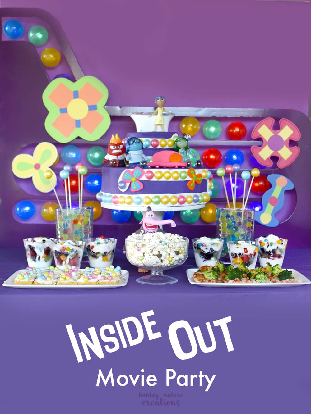 Inside Out Movie Party! The Ultimate ideas for throwing an epic Inside Out Movie Party!