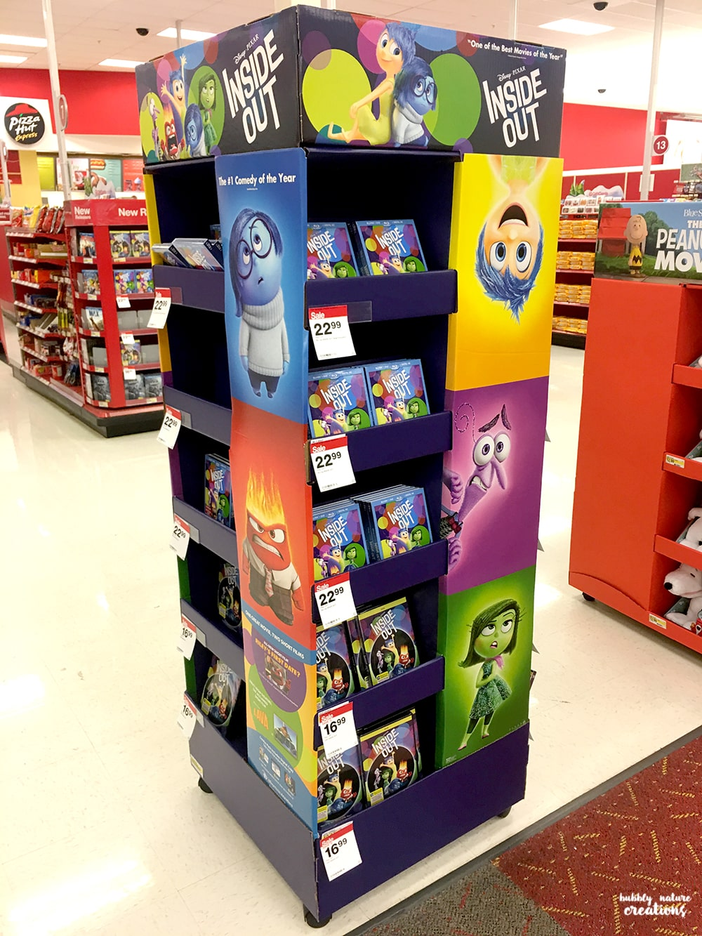 Inside Out Movie at Target!