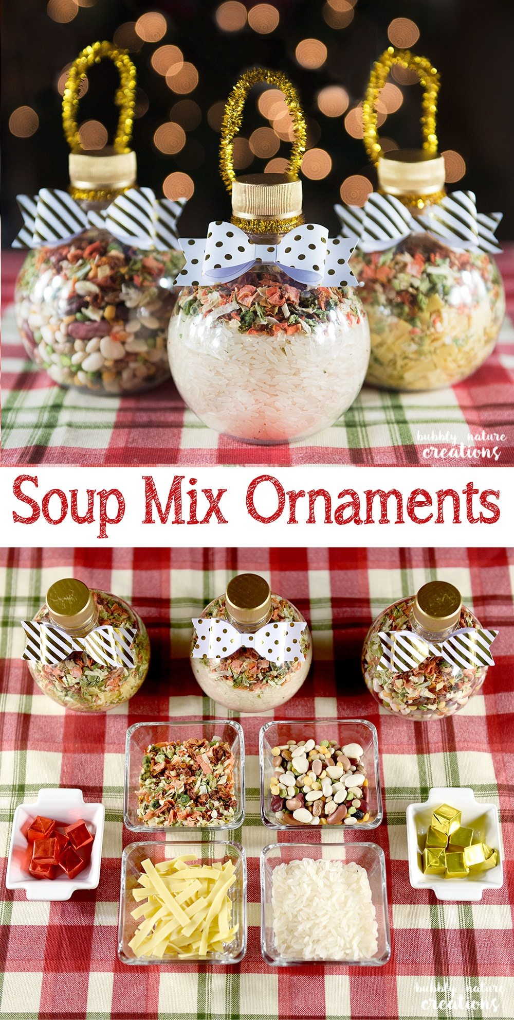 Soup Mix Ornaments - Sprinkle Some Fun