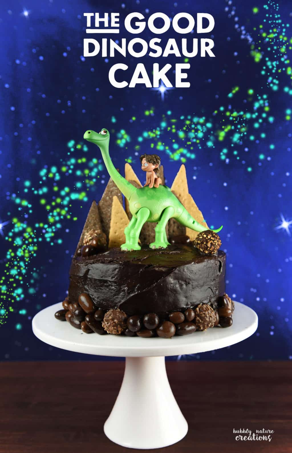 The Good Dinosaur Cake Easy Tutorial