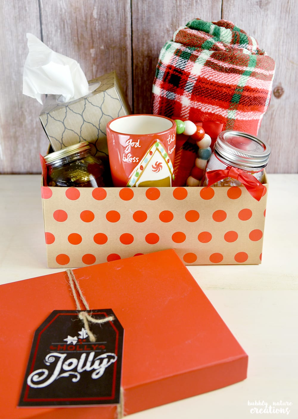 Winter Care Kit Gift!! Know someone battling the cold or flu this season? Make them this easy kit!