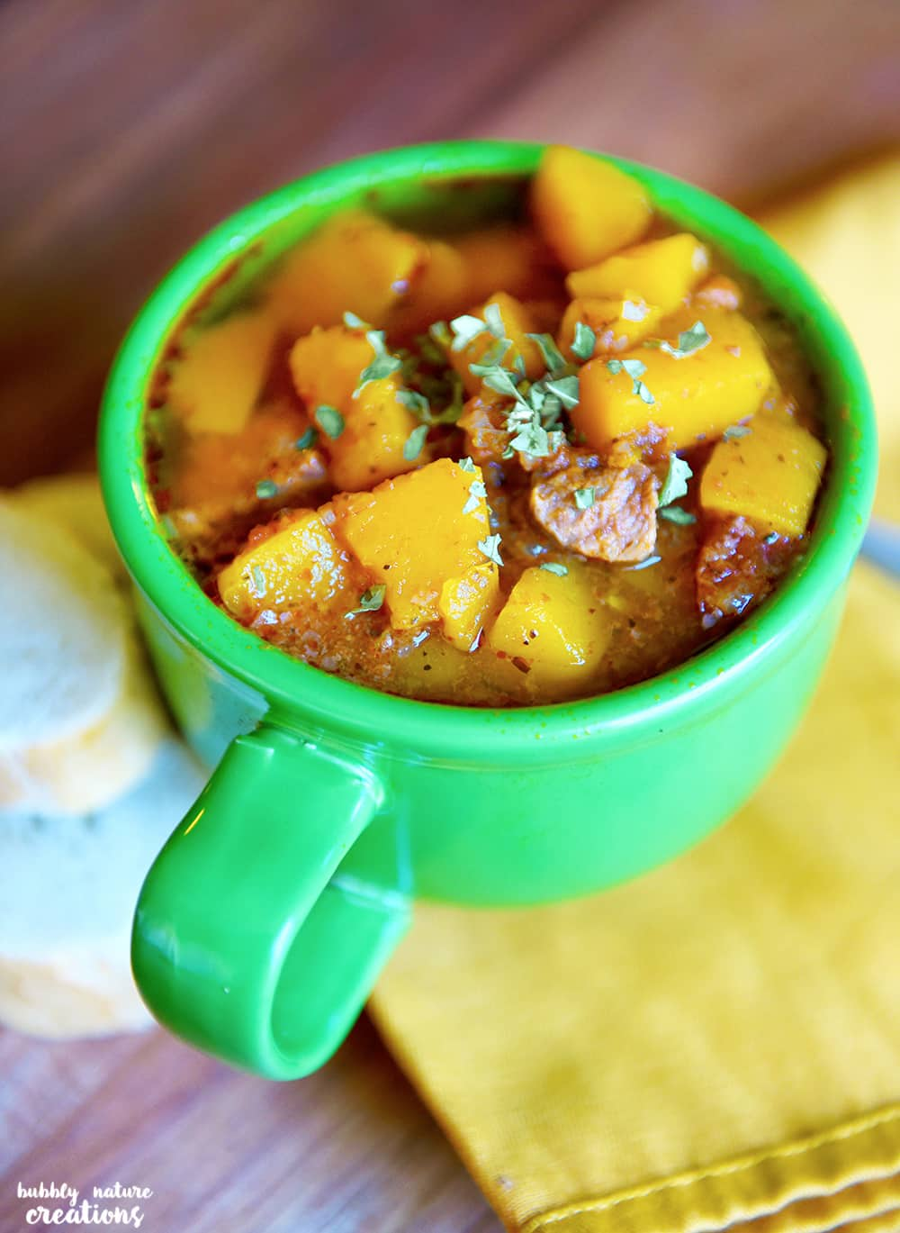 Winter Squash and Beef Stew