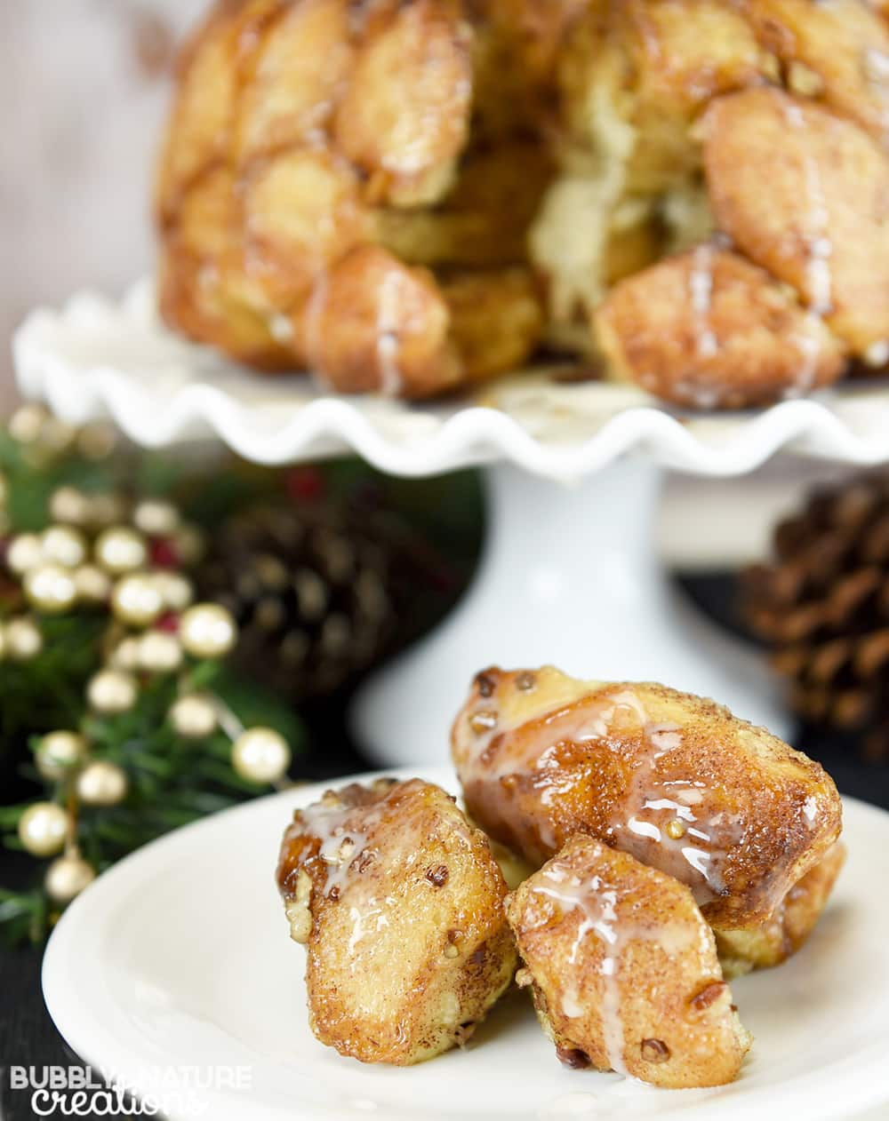 Buttered Rum Monkey Bread!! Quite possibly the best Christmas breaskfast item!!!