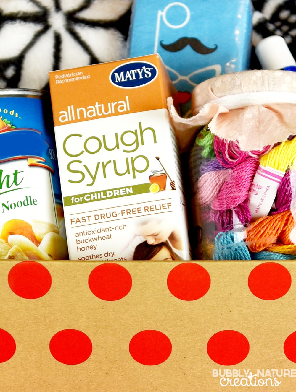 Cold Care Kit for Kids!!! These are some great ideas to keep on hand for when your child gets sick with a cold. All natural remedies!