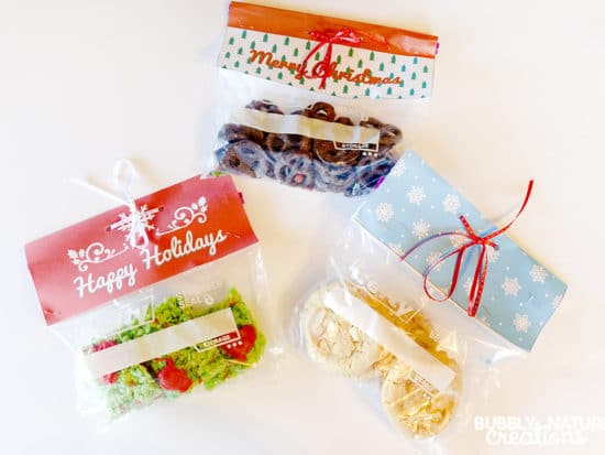 Easy Holiday Gift Bags with Hefty