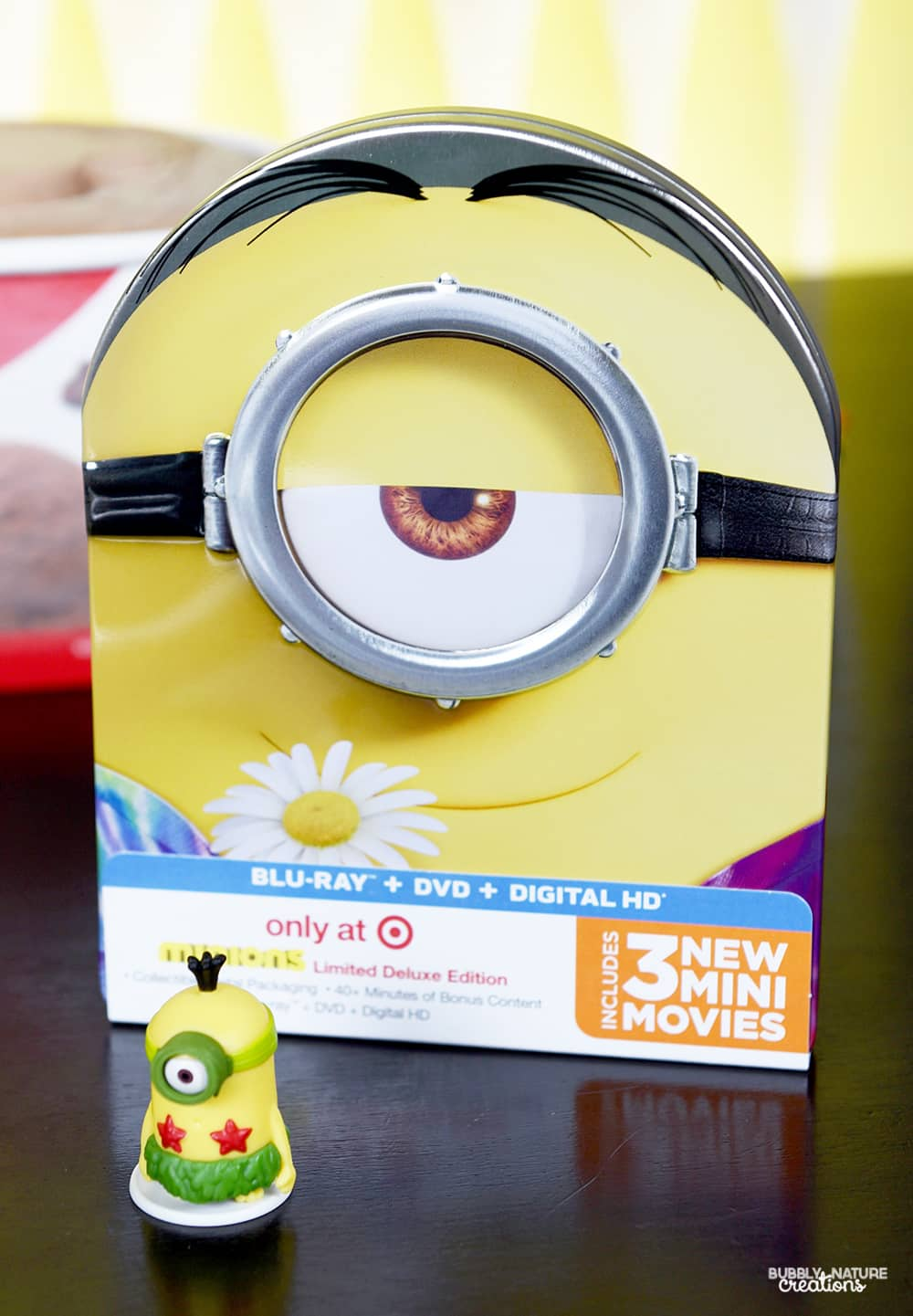 Minions Movie from Target in metal case!