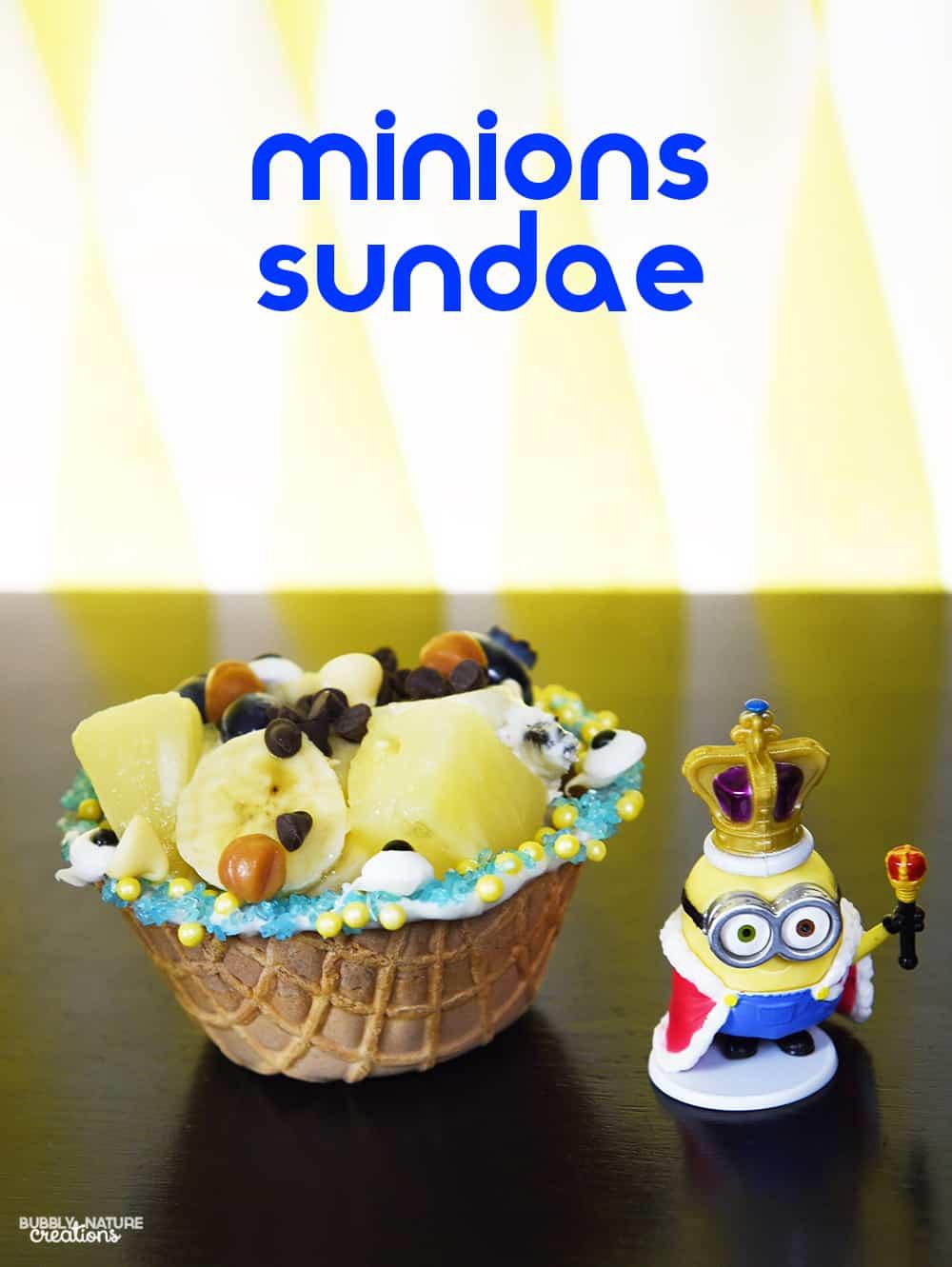 Minions Sundae!