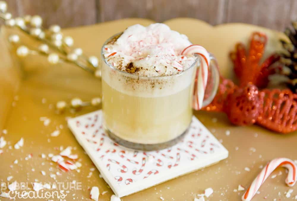 Skinny Peppermint Mocha Cappuccino!! Such a yummy holiday drink!