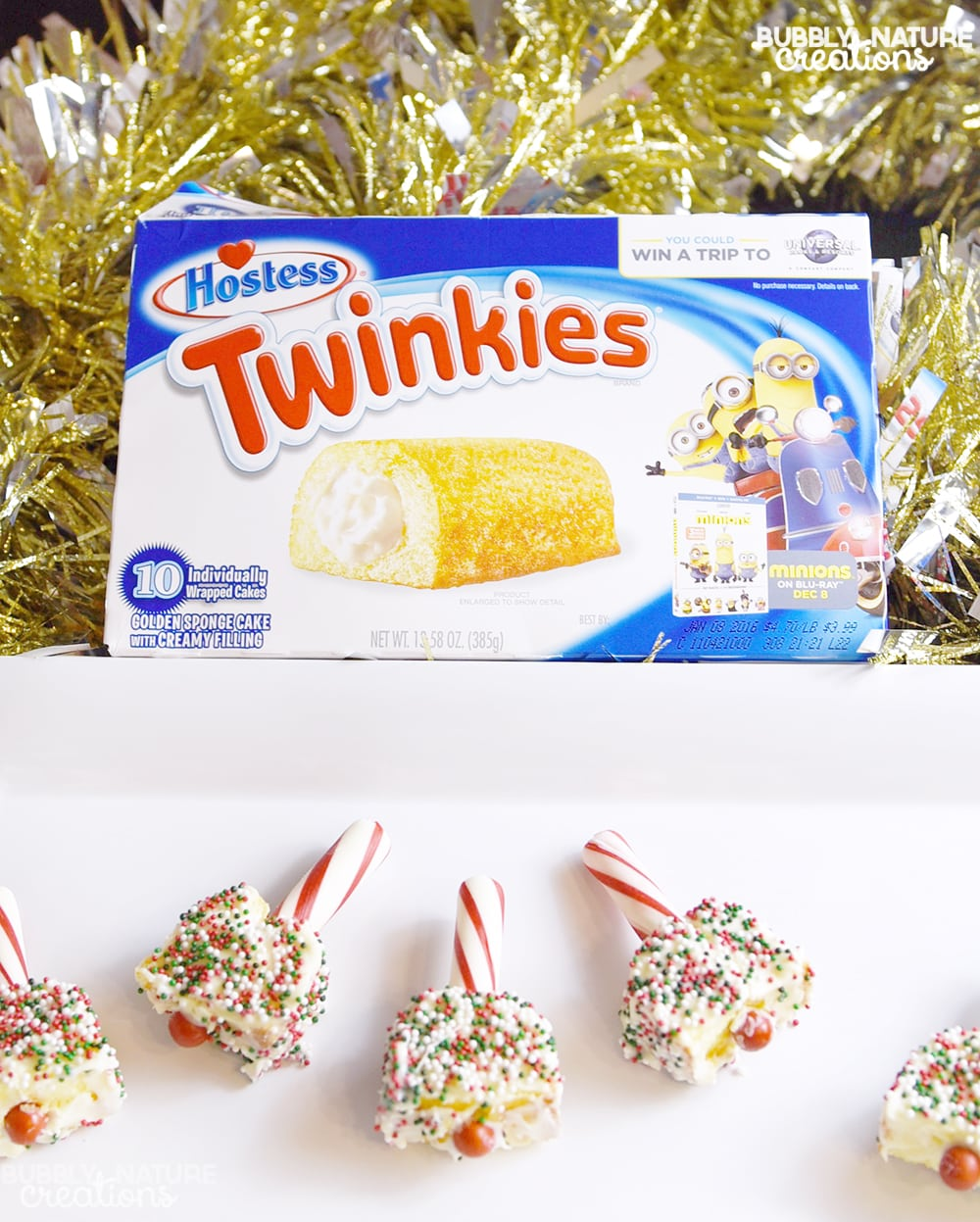 Twinkie bells sprinkle some fun for Some good christmas treats to make