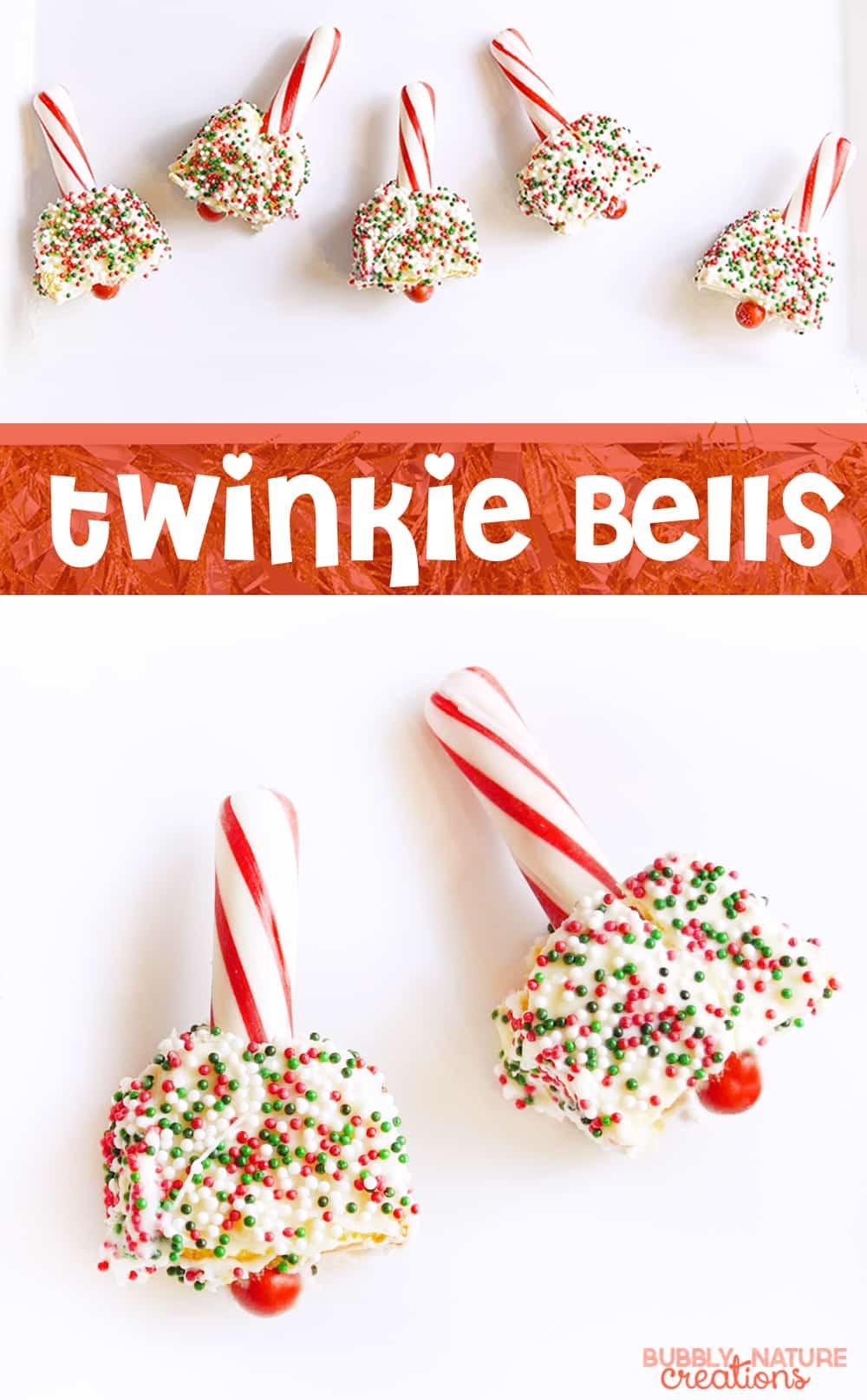 Twinkie Bells!!. Such a cute Christmas treat idea!!!