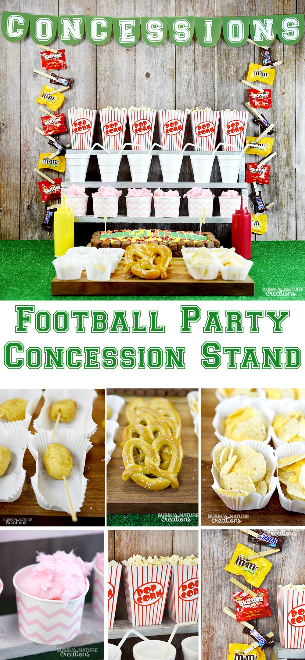 football party concession stand ⋆ sprinkle some fun