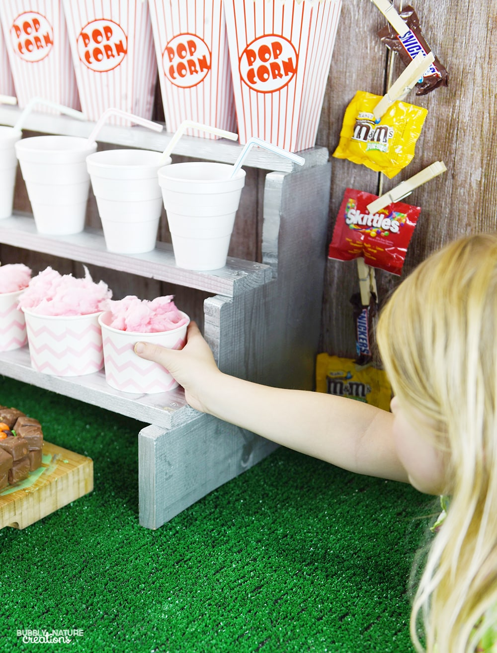 Football Party Concession Stand!! Such a fun party idea!
