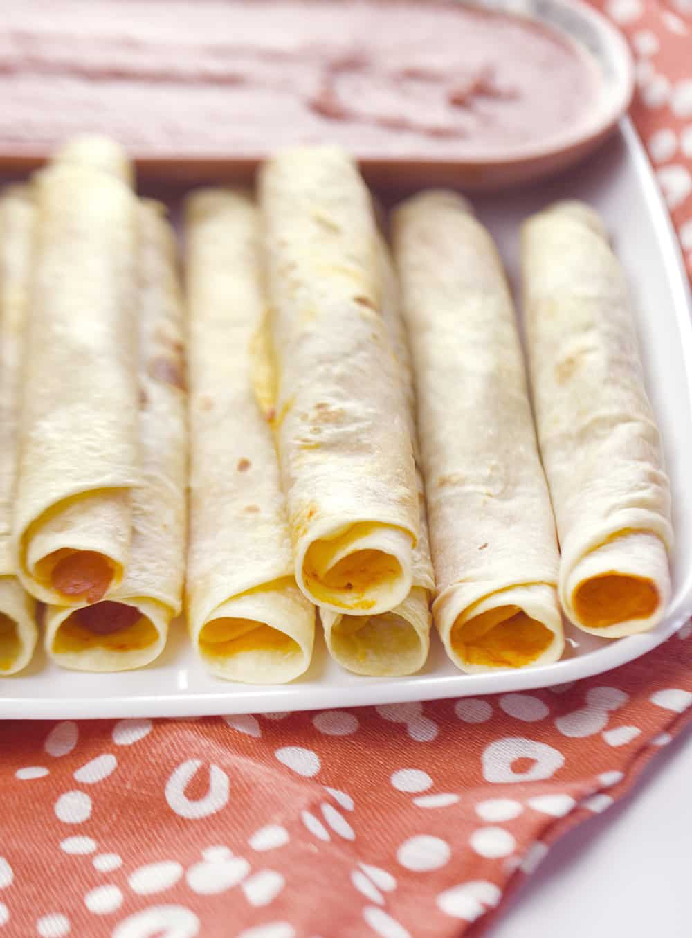 Pizzitos... Pepperoni Pizza Taquitos!!  A great appetizer idea!