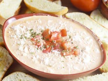 3 Ingredient Creamy Tomato Italian Dip