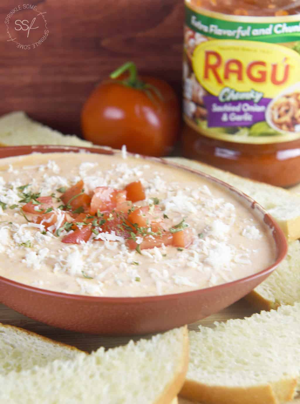 Creamy Tomato Italian Dip.! Perfect easy dip idea for any party!