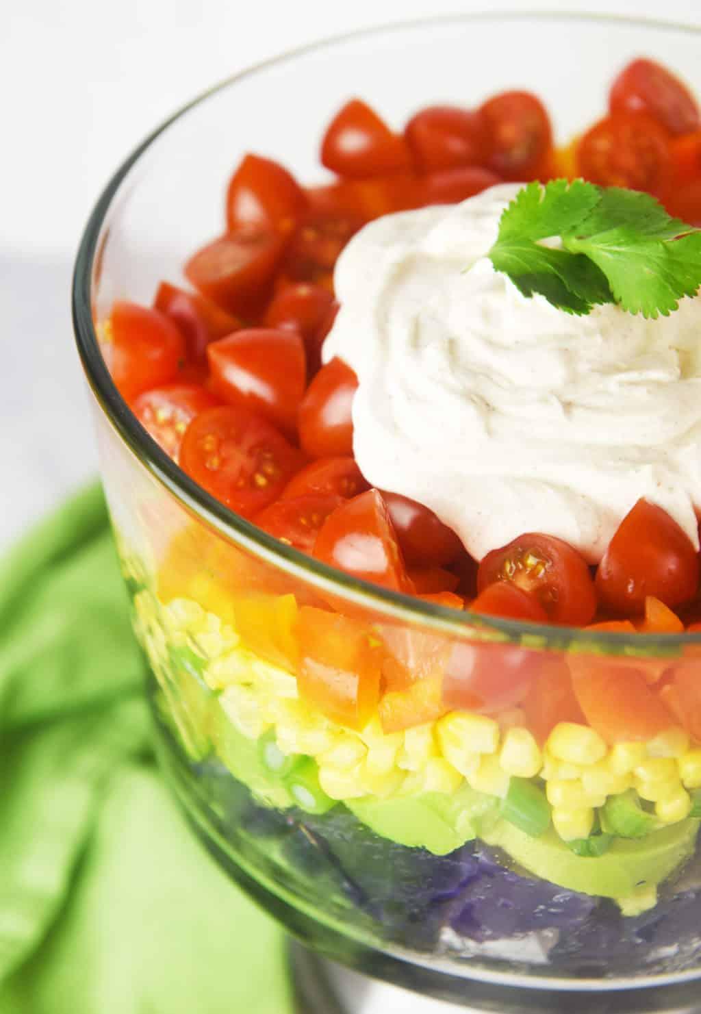 Rainbow Potato Salad!