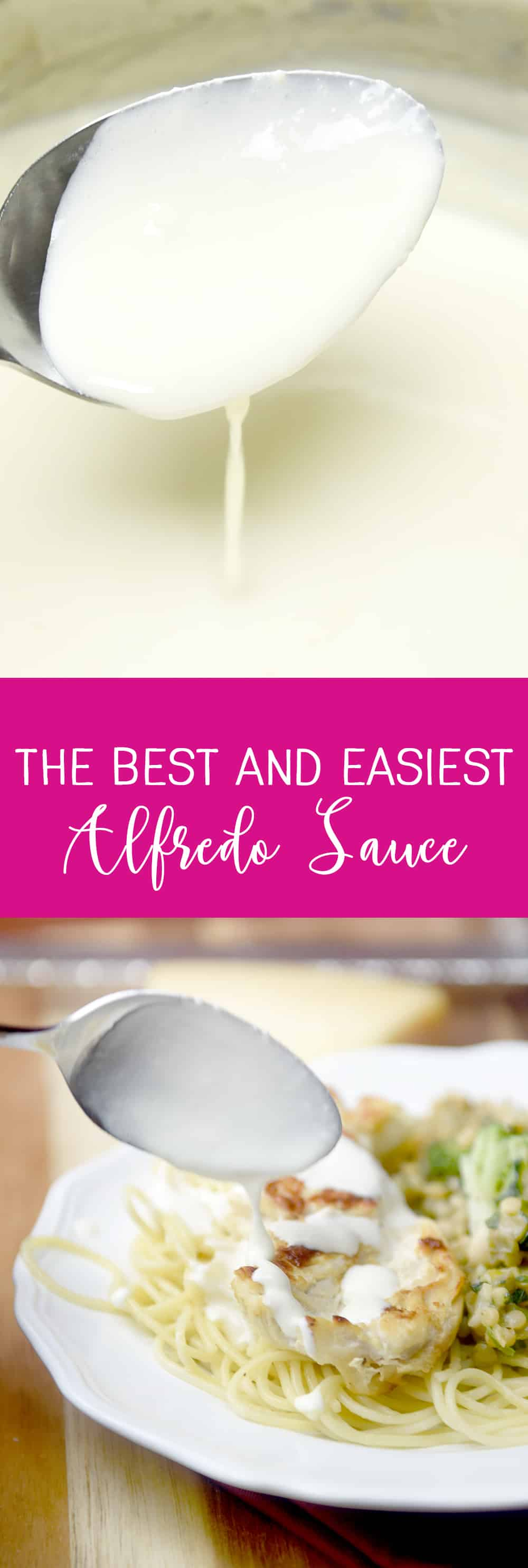 The Best and Easiest Alfredo Sauce!