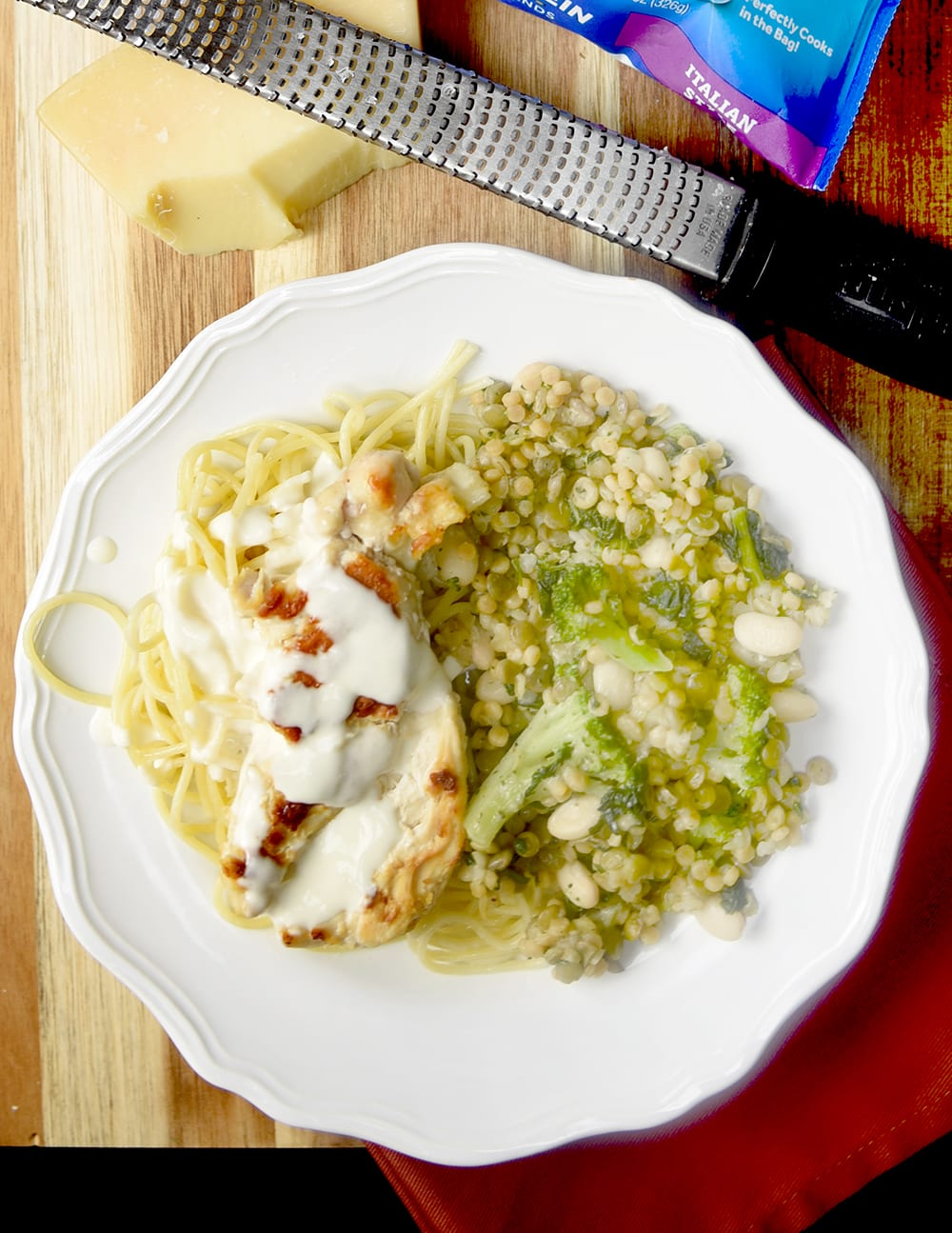 The Best and Easiest Alfredo Sauce and Easy Italian side dish ideas