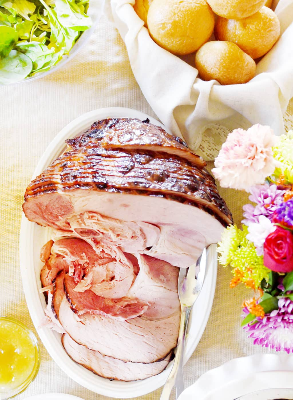 Campfire Sugar Rubbed Curemaster Reserve Ham delivered to your door for Easter!