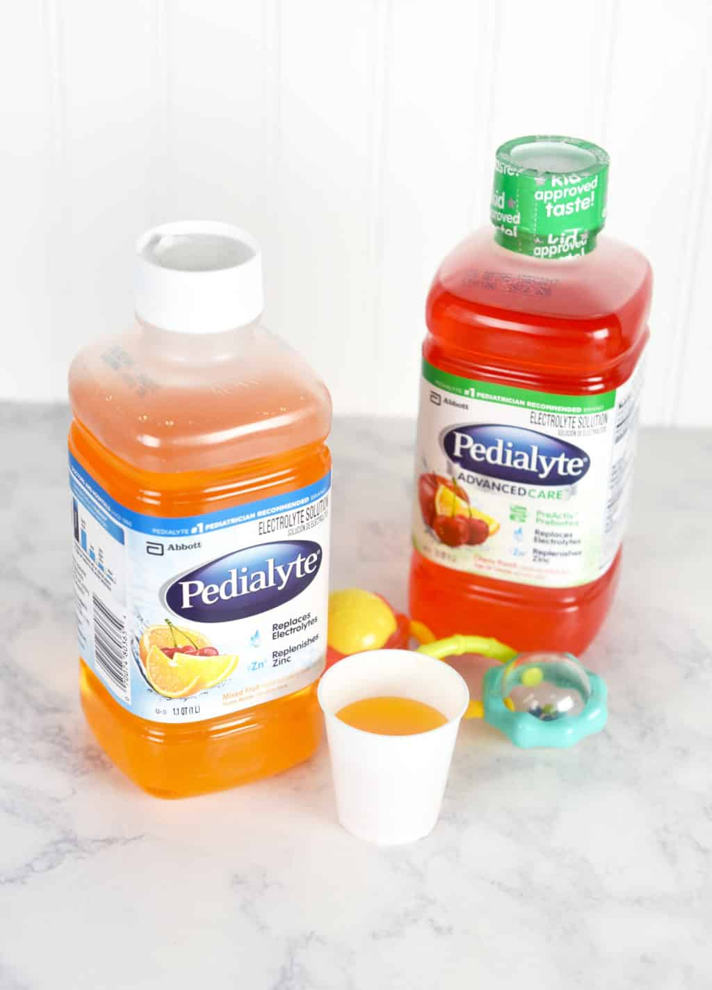 Pedialyte for Kids to prevent dehydration!