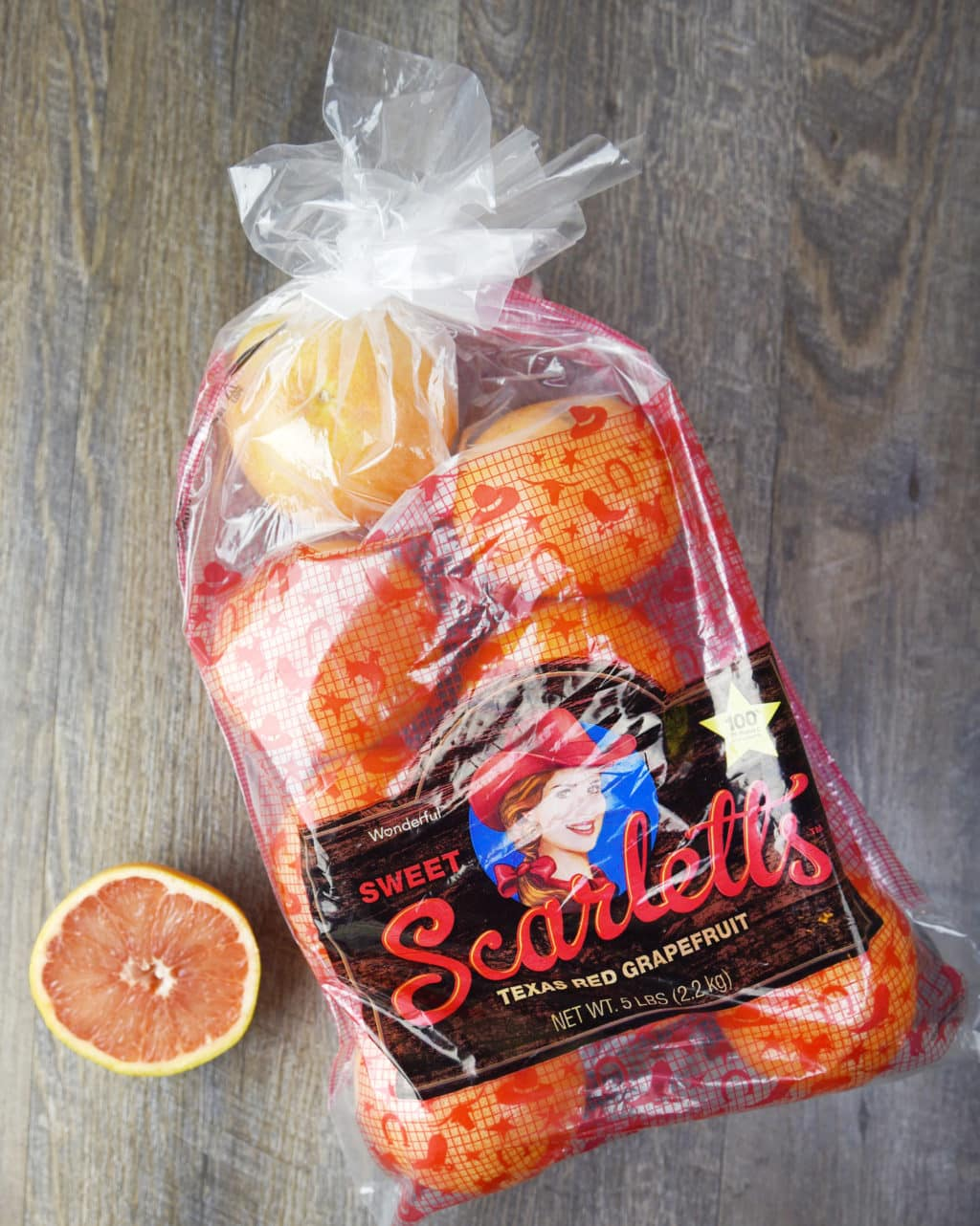 Sweet Scarlett's Grapefruit!