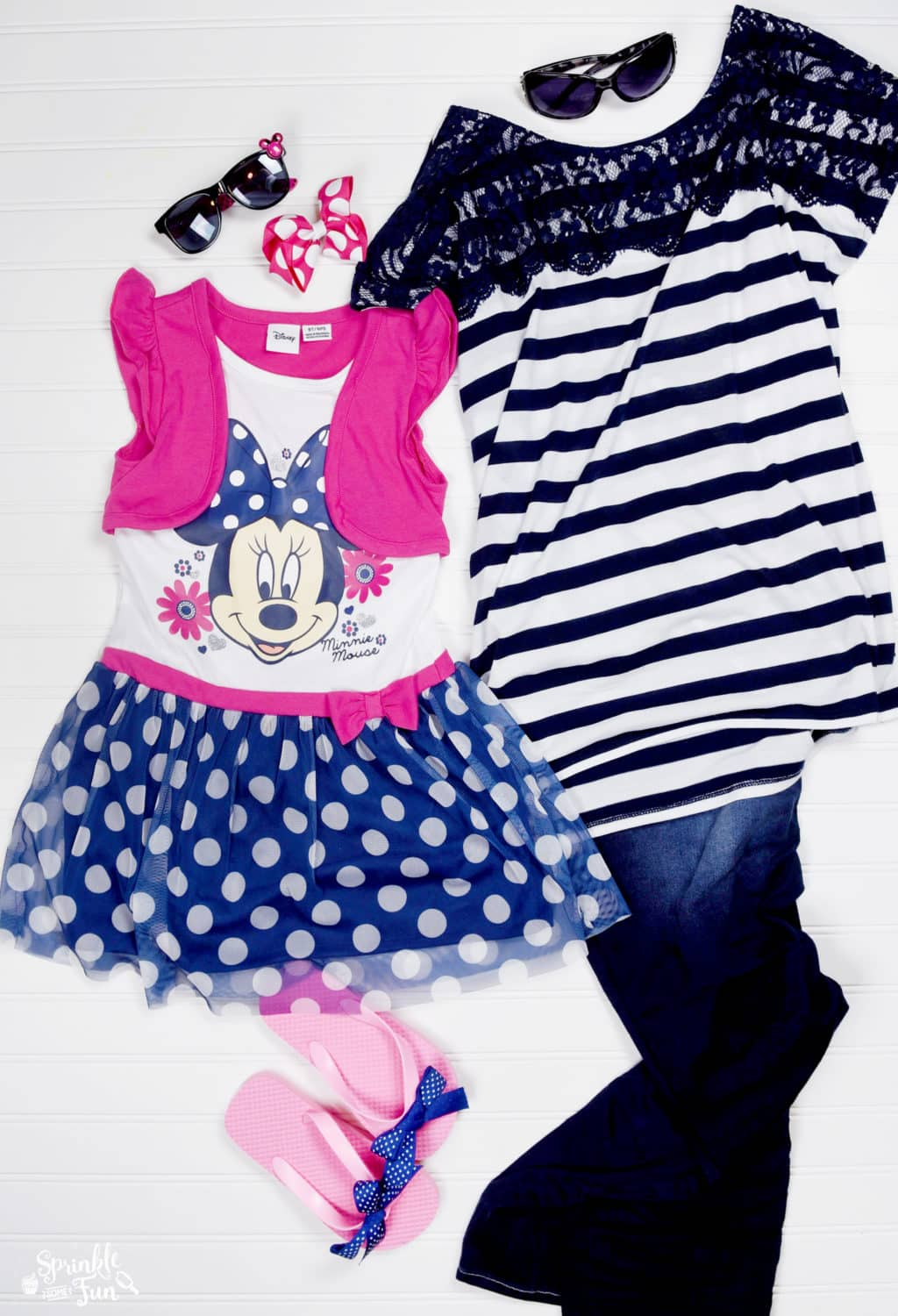 Fashionable Minnie Clothing for less!!! Girls Minnie Outfits
