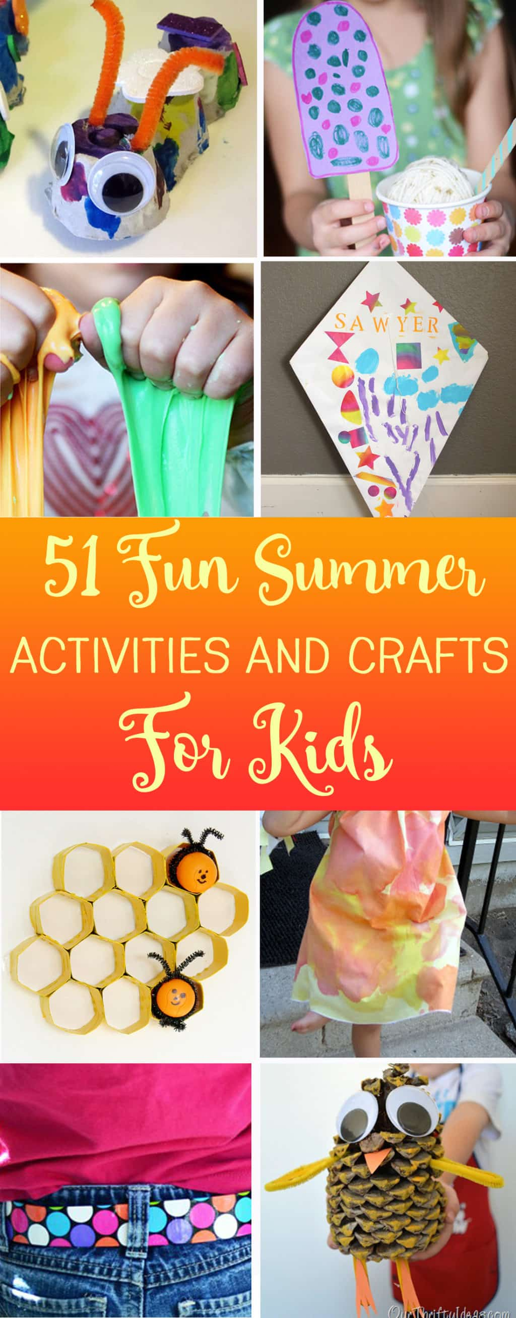 Mega List Of Fun Summer Activities And Easy Crafts For Kids Your Will Never