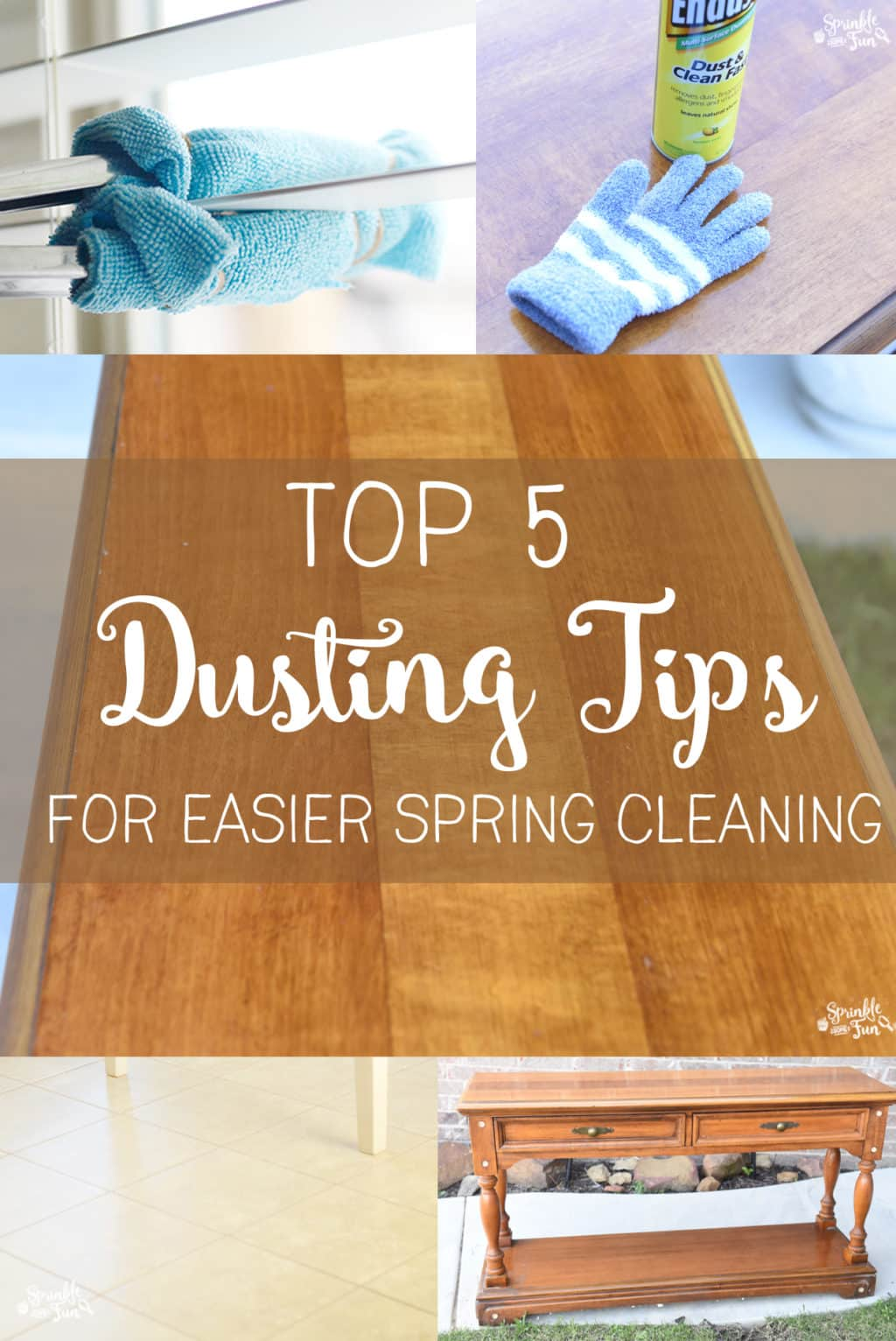 Top 5 Dusting Tips for Easier Spring Cleaning!