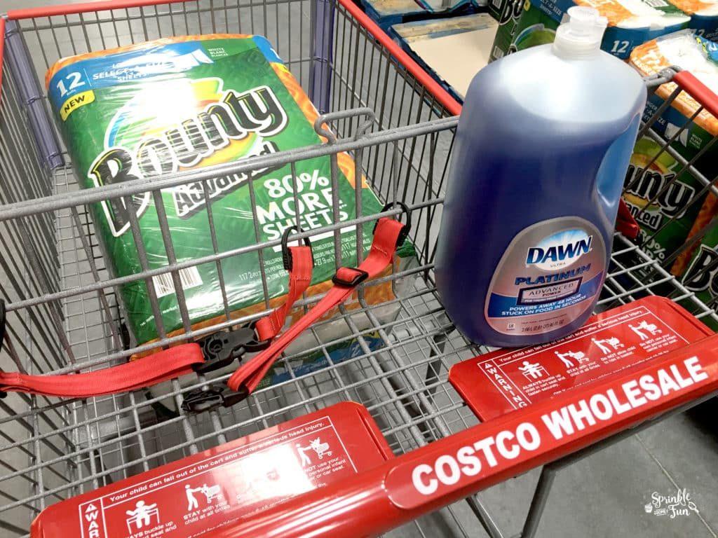 Dawn and Bounty at Costco